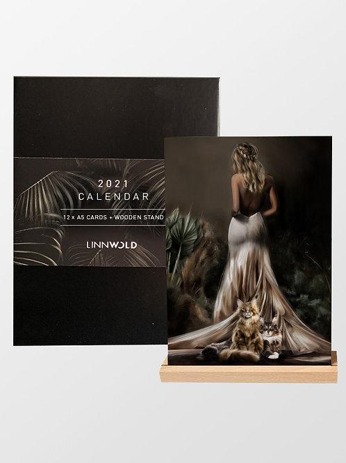 2021 Calendar (6 Pack) / English