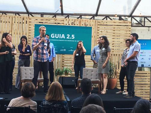 Nova versão do GUIA 2.5 traz mapa atualizado de aceleradoras e investidores de impacto