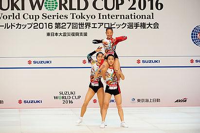 AG2トリオ部門優勝!河合 翔・増田りさこ・澁谷美月組(ジムナ)
