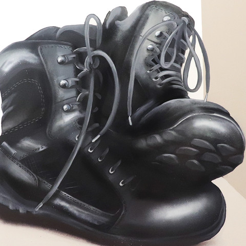 correctional officer boots