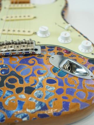 Customized Fender guitar