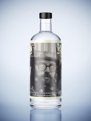 Peace Vodka label