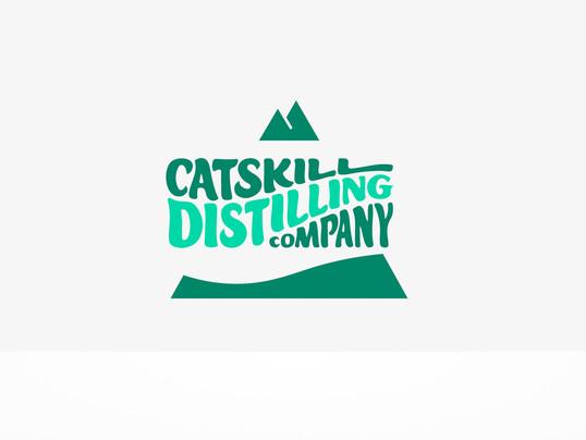Catskill Distilling Company Logo Reveal
