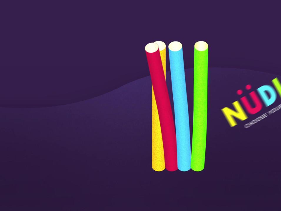 Nüdl logo reveal