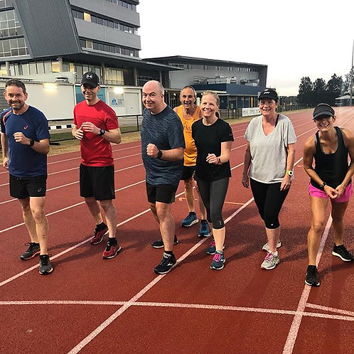 10 x speed squad session including track fee