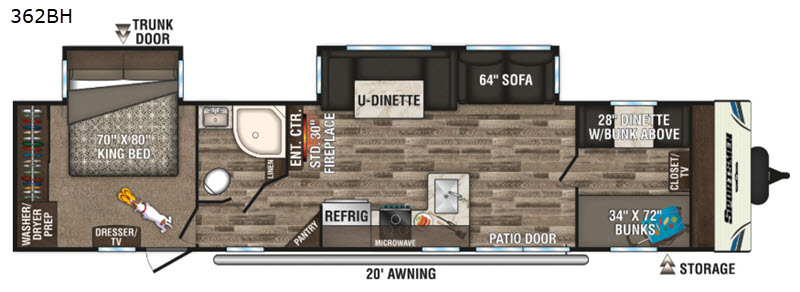 destination floorplan