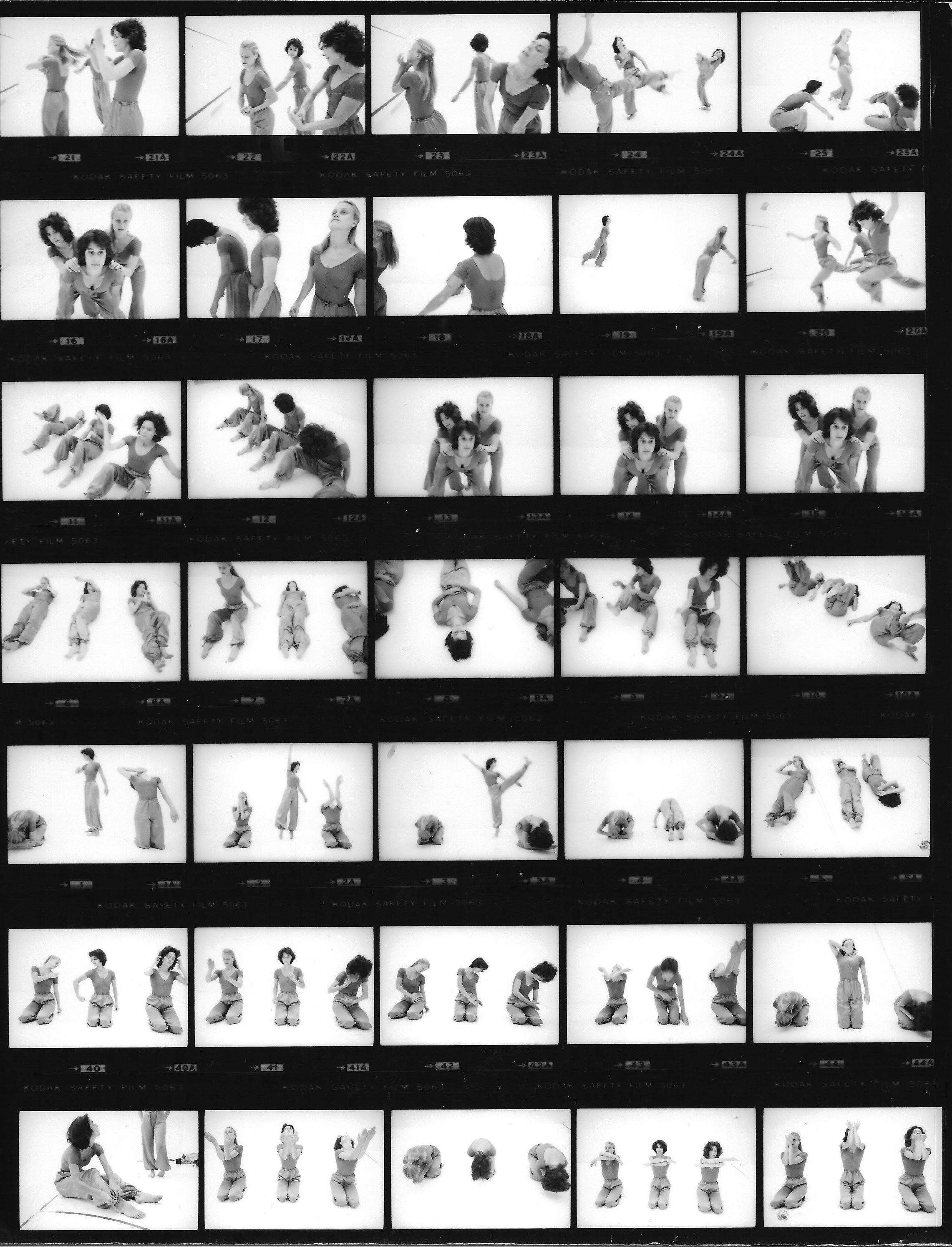 Blind Faith (1977) - contact sheet