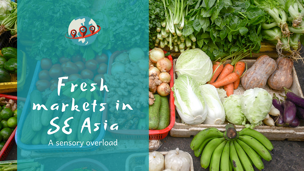 fresh markets in Asia