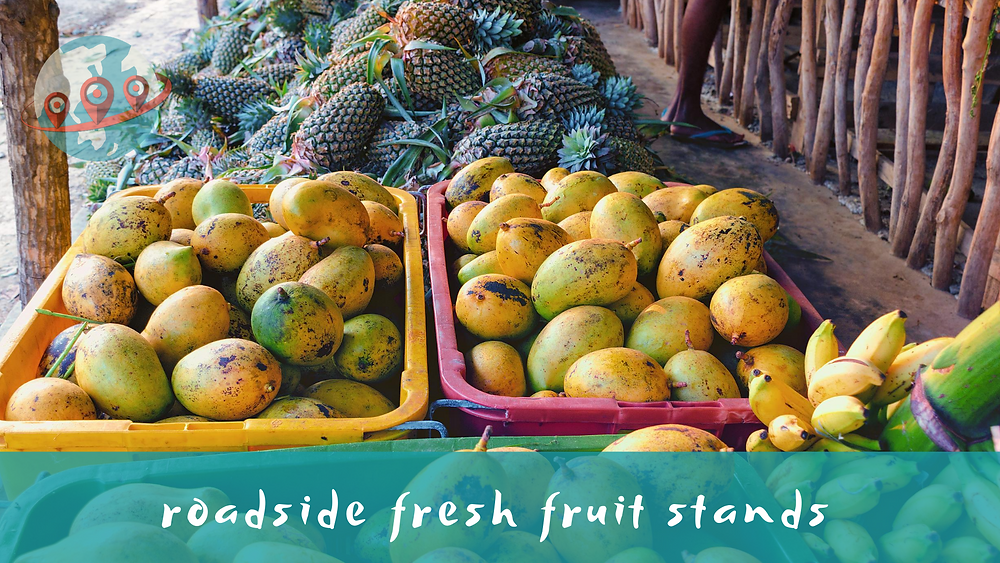 fresh fruit market Asia