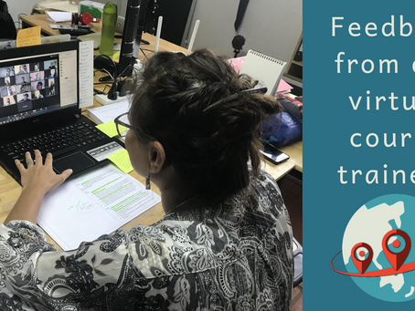 Feedback from our virtual course trainees