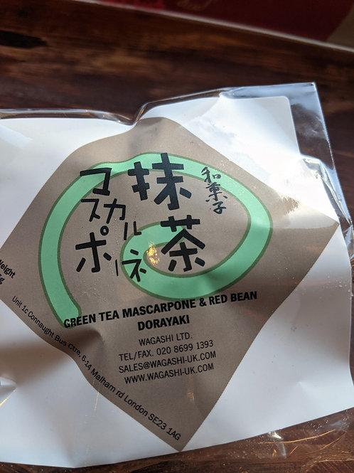 Green Tea Mascarpone & Red Bean