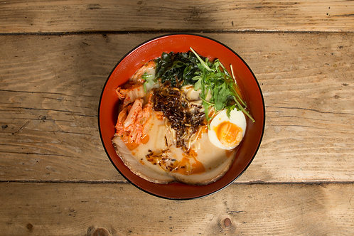 Pork Miso Kimchi Ramen