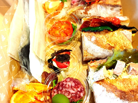 サンドウィッチ&前菜のランチBOX