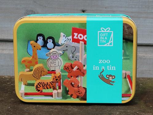 Gift in Tin - Zoo in Tin