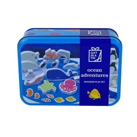 Gift in Tin - Ocean Adventures