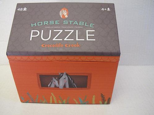 Crocodile Creek - Horse Stable Puzzle