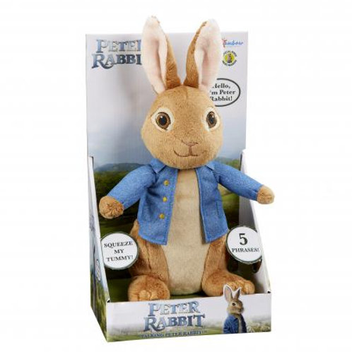 Peter Rabbit Talking Soft Toy