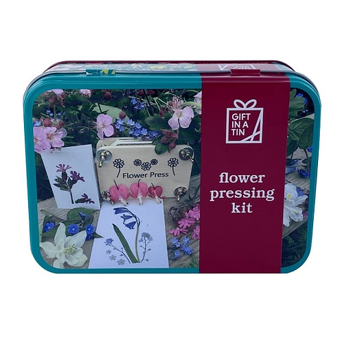 Gift in a Tin -Flower Pressing Kit