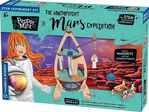 Kosmos - Pepper Mint in Mars Expedition