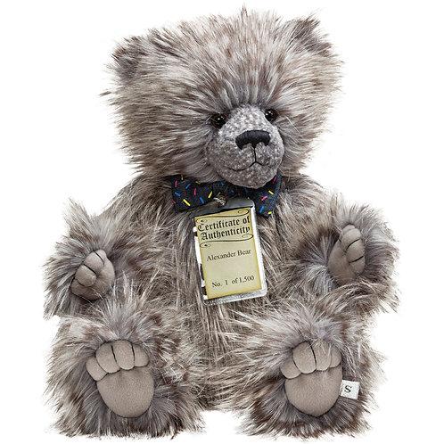 Silver Tag Bear Alexander