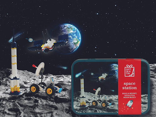 Gift in Tin - Space Station