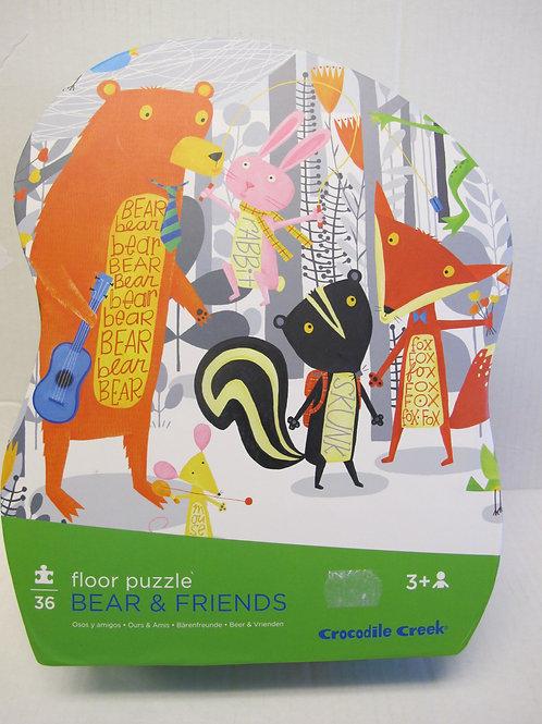 Crocodile Creek - Bear & Friends Puzzle