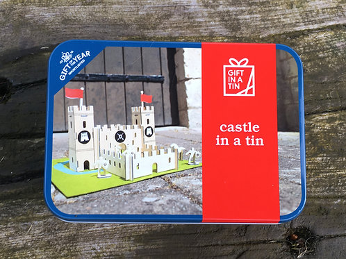 Gift in Tin - Build a Castle