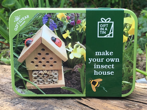 Gift in Tin - Insect House