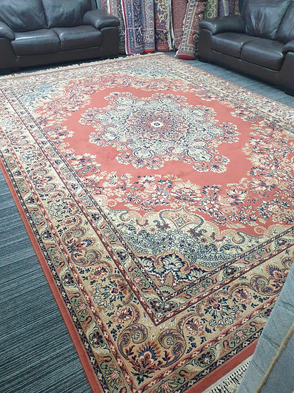 Vintage Wool Pre-Owned Rugs Super Keshan 300 x 420 cm