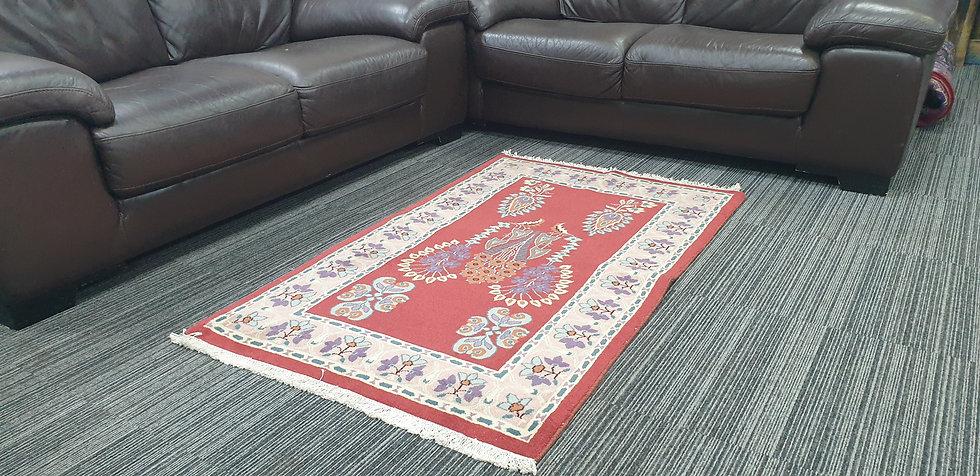 Vintage Wool Pre-Owned Rugs Persian Kerman 90 x 145 cm