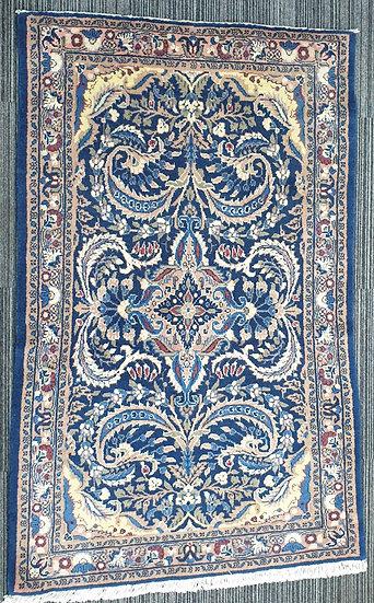Vintage Wool Pre-Owned Rugs Persian Saroug