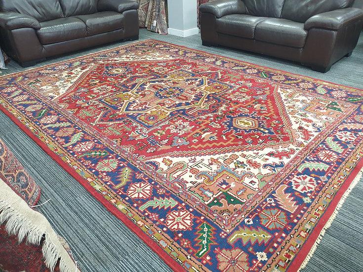 Vintage Wool Pre-Owned Rugs Indian Heriz 250 x 340 cm