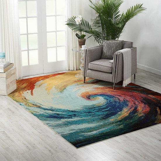 Nourison Celestial Collection CES07 Wave