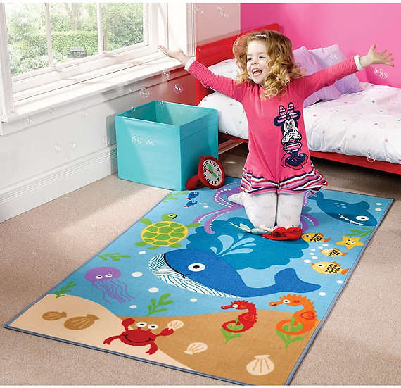 Flair Rugs Matrix Kiddy Under the Sea