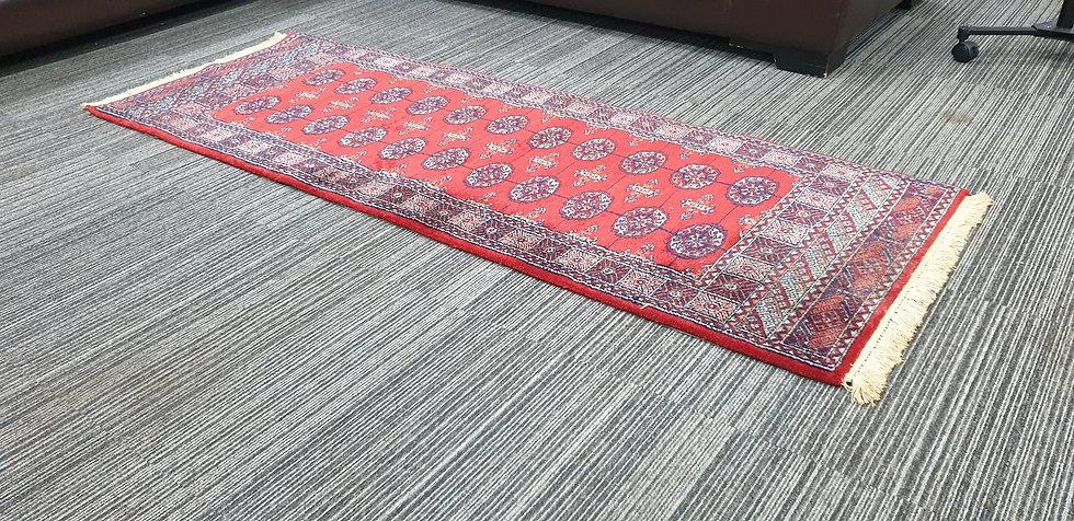Vintage Wool Pre-Owned Rugs Persian Bukhara 70 x 200 cm