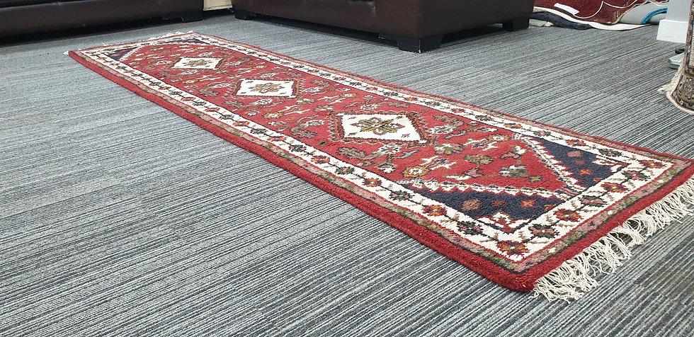 Vintage Wool Pre-Owned Rugs Indian Bidjar VWR10 72 x 270 cm