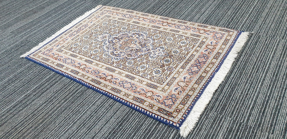 Vintage Wool Pre-Owned Rugs Persian Moud 60 x 90 cm