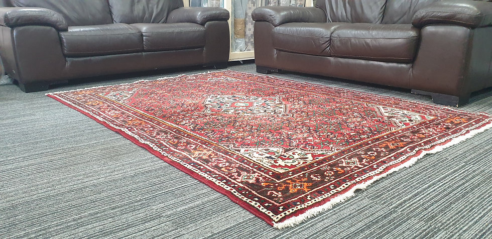 Vintage Wool Pre-Owned Rugs Persian Hamadan 158 x 225 cm