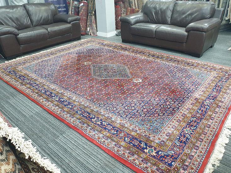 Vintage Wool Pre-Owned Rugs Indian Bidjar 235 x 340 cm