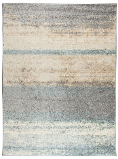 Flair Rugs Simplicity Light and Bright Ombre Blue