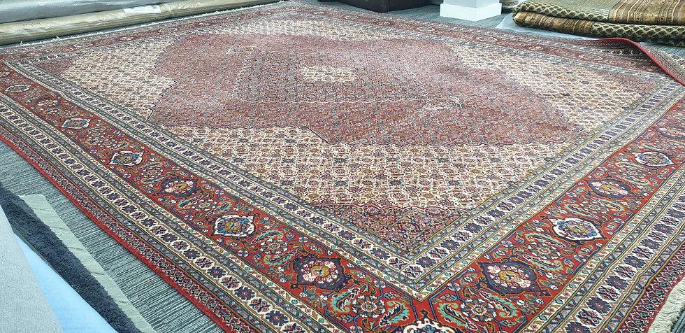 Vintage Wool Pre-Owned Rugs Persian Bidjar 310 x 400 cm
