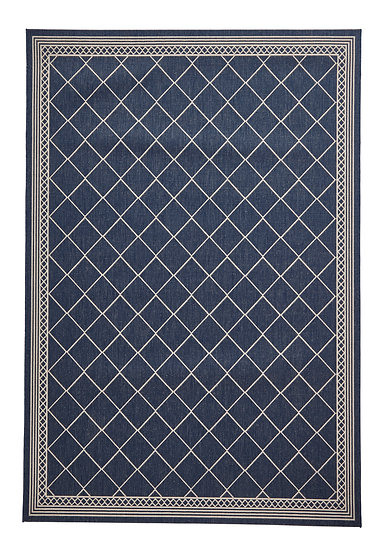 Think Rugs Cottage CT7643 Midnight Blue