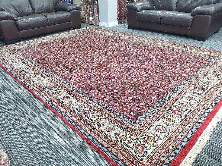 Vintage Wool Pre-Owned Rugs Indian Bidjar Herati 250 x 345 cm