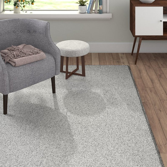 BT Carpet Wolly in Woll-Optik Grey 102840