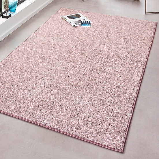 Hanse Home Ruffled Velor 102617 Pure Rosa