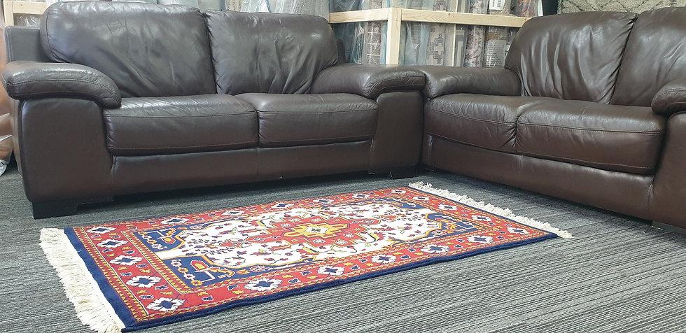 Vintage Wool Pre-Owned Rugs Persian Kazak 93 x 148 cm