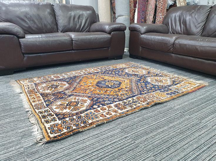 Vintage Wool Pre-Owned Rugs Afghan Belutsch 120 x 155 cm