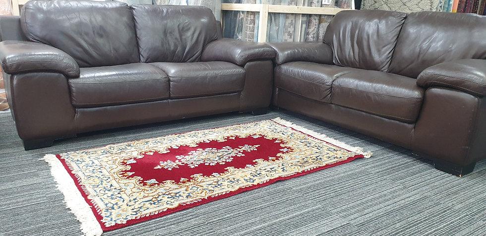Vintage Wool Pre-Owned Rugs Persian Kerman 90 x 150 cm