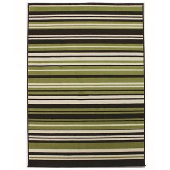 Flair Rugs Simplicity Element Canterbury Green Brown
