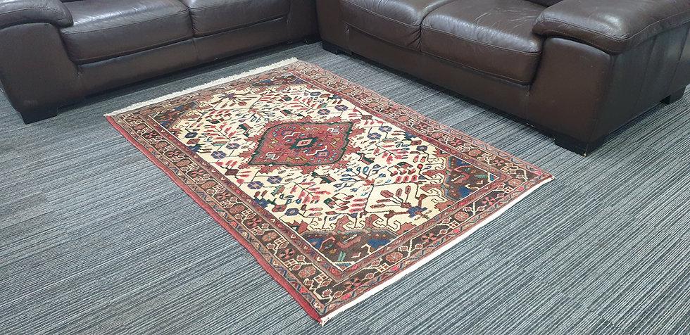 Vintage Wool Pre-Owned Rugs Persian Hamadan 111 x 167 cm